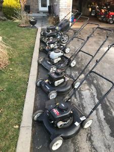 Assorted Lawnmowers