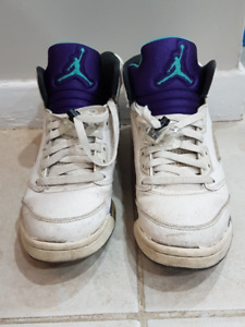 Beater Jordans (Grape 5 Size 7 & Olympic 6 Size 6.5)
