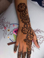 Hosting Henna Tattoo party For Christmas .