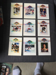 NHL 1993 TOPPS STADIUM CLUB LARGE MASTER PHOTOS 5X7 Complete Set