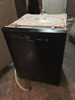Black KENMORE dishwasher in perfect working condition