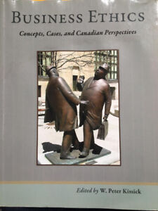 Business Ethics - Concepts, Cases, and Canadian Perspectives
