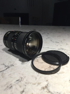 CANON FD 35-105mm f/3.5 zoom lens
