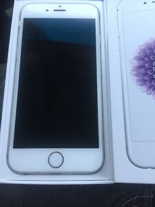 White iPhone 6 16GB Mint conditon with warranty
