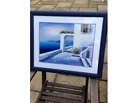 Greek oil paintings on canvas and framed