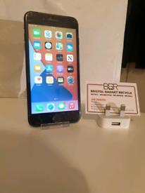 Apple iPhone 7 Plus Black 128GB Unlocked + 100% Battery + 1-Month