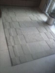 Mohawk Carpet with raised  rectangle design