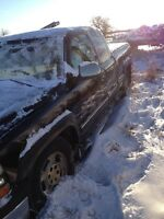 2002 Chevrolet 1500 complete parts truck