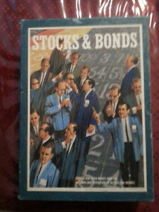 Stocks & Bonds 1968 version 3M Bookshelf Board Game