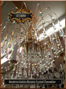 Antique Chandeliers   Stained Glass   Table   Floor & Wall lamps