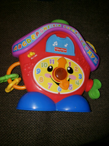 Toddler interactive coo coo clock *Reduced *