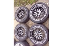"""19"""" Staggered BMW BBS LMs Alloys 5x120"""