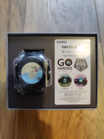 Casio Pro Tek WSD-F30 Smartwatch Android Apple iPhone NEW SEALED