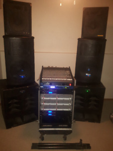 PA System and Equipment For Band