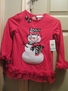 NEW girls 2 piece festive outfit