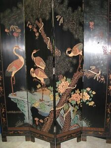 Antique Room Divider Screen for Spa Clinic or Home