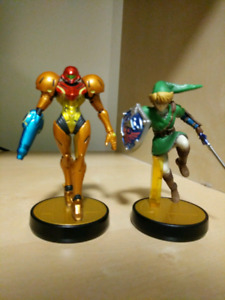 Link and Samus Amibo Bundle (opened)