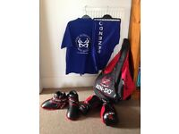Kick boxing Zendo kit 9 to 11 years old