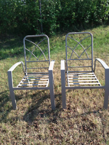 6 Lawn chairs