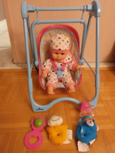 NEW: Sweet baby playset with accessories (WITHOUT BOX)