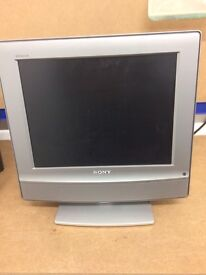 Sony Digital LCD Colour TV. 15 inch screen