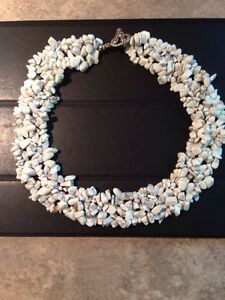 Hand Crafted Stone Necklace!