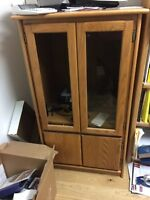 Entertainment cabinets