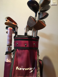 Sac de golf pour droitière - femme -intermediaire. Aubaine!