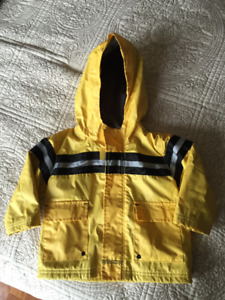Old Navy lined Raincoat - 18-24 months