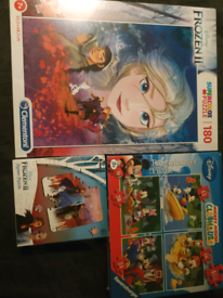 Kids puzzles new in shrink