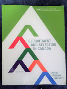 Recruitment and Selection in Canada (Sixth Edition)