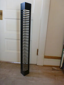 Metal CD Wall Rack Holds 40 CDs – Excellent Condition