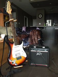 Electric guitar and amp Cambridge Kitchener Area image 1