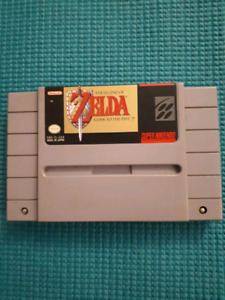 SNES Super Nintendo The Legend of Zelda A Link to the Past