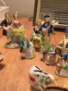 Lot of porcelain figurines. Some made in occupied Japan Cornwall Ontario image 3