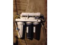 Window cleaning filter system