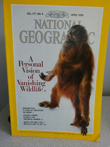 1990, 91 and 92 National Geographic books Cornwall Ontario image 4