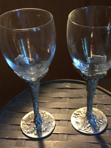 Wine Glasses - Seagull Pewter