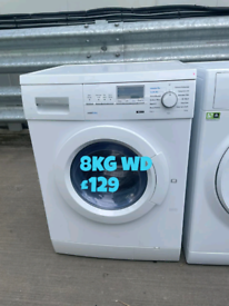 Siemens 8kg washer dryer free delivery in Nottingham