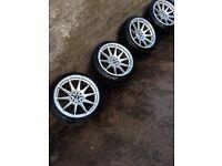 Xxr wheels - 5x114.3/5x100 - silvia Evo is200 s14a 200sx supra skyline golf Toledo bora