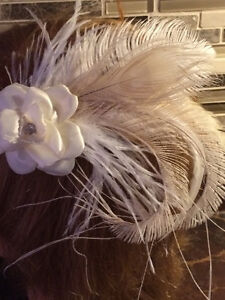 Bridal headpieces, Fascinators, hair clips, Feather headbands West Island Greater Montréal image 6