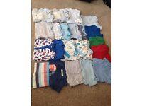 Baby boy 0-3m bundle