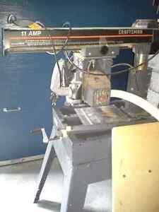 Craftman Radial Arm Saw & Shaper Gatineau Ottawa / Gatineau Area image 1