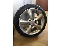 "Mercedes 17"" c class alloy wheels"