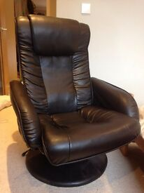 Reclining Chair (faux leather)