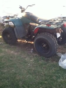 Quad and Trailer combo