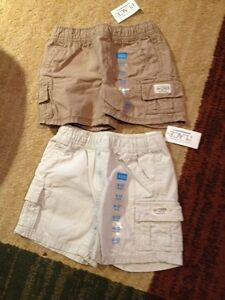 New children's place shorts