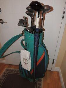 Ensemble de batons de golf et sac ( Femme - droitière )