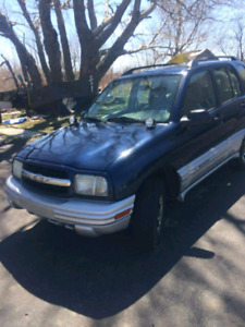 2002 Chevy trackers