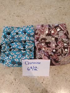 Plusieurs couches lavables / many diapers for sale